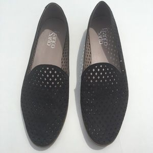 07f0811a4a3 Franco Sarto Shoes - Franco Sarto Faryn Loafers - Black Laser Cut